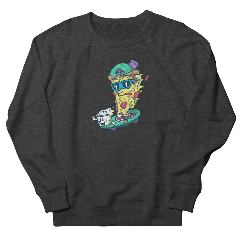 Pizza and Ranch Women's French Terry Sweatshirt by SteveOramA