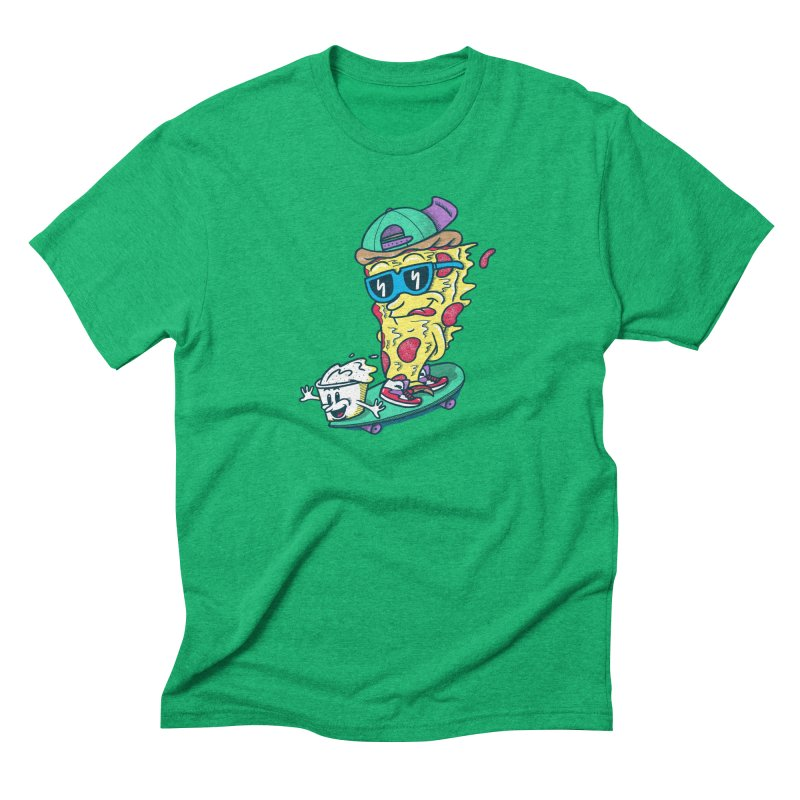 Pizza and Ranch Men's Triblend T-Shirt by SteveOramA