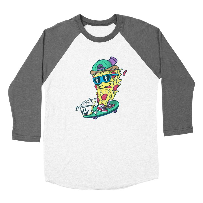 Pizza and Ranch Men's Baseball Triblend Longsleeve T-Shirt by SteveOramA