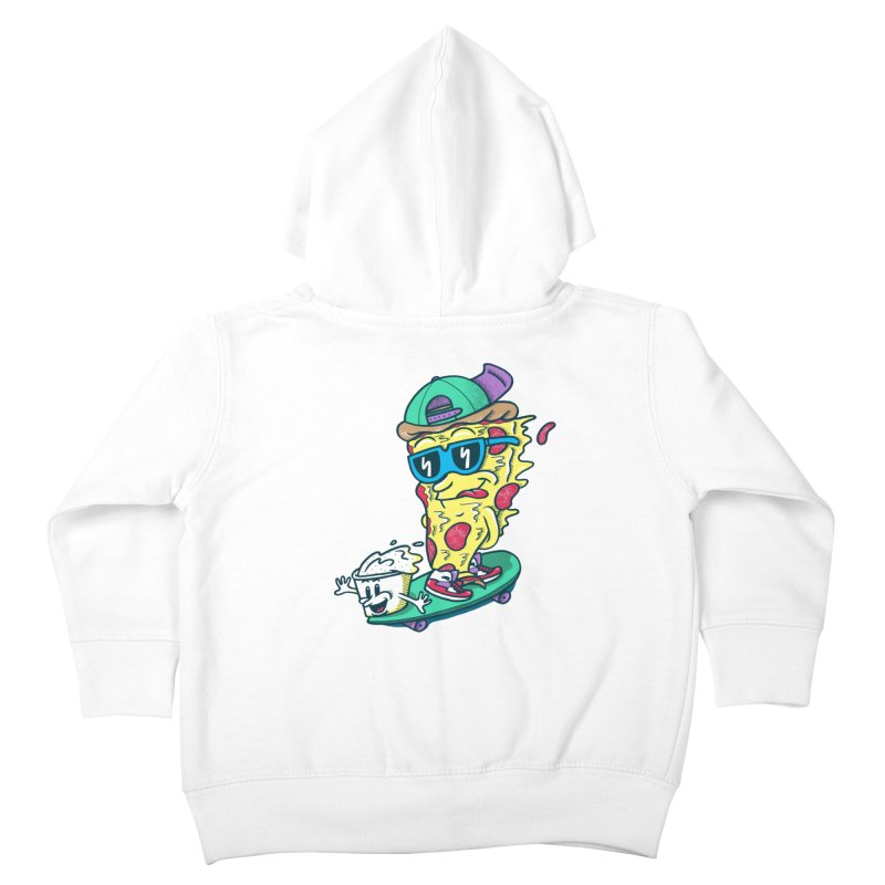 Pizza and Ranch Kids Toddler Zip-Up Hoody by SteveOramA