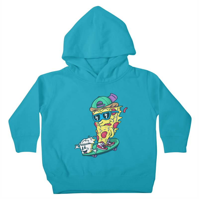 Pizza and Ranch Kids Toddler Pullover Hoody by SteveOramA