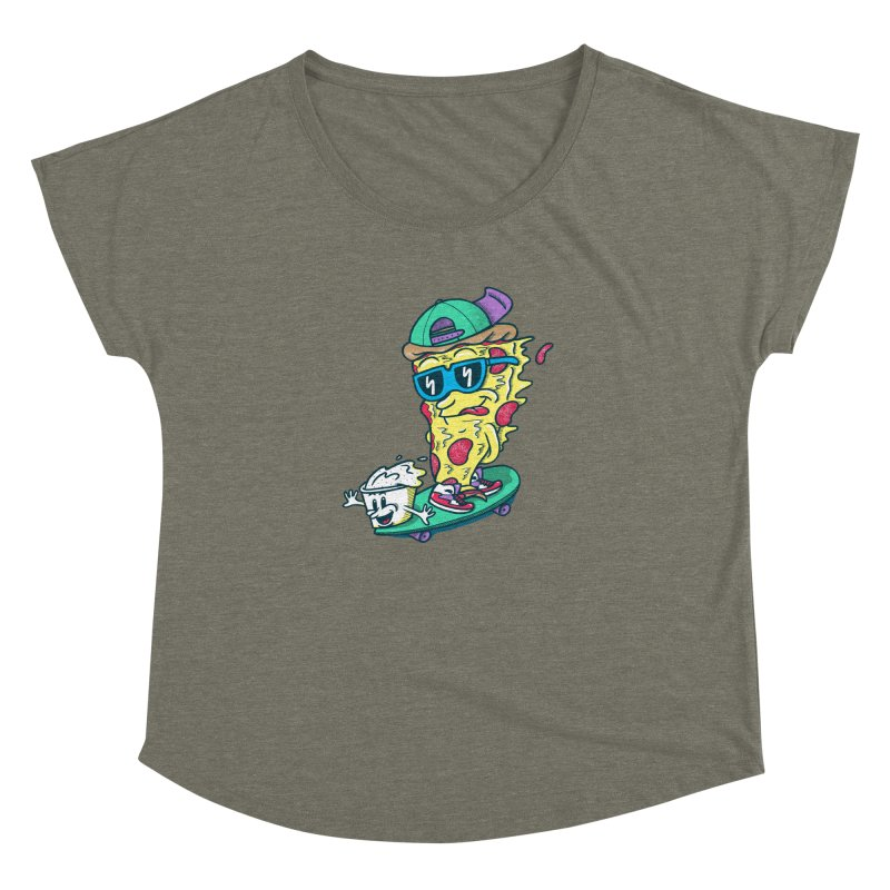 Pizza and Ranch Women's Dolman Scoop Neck by SteveOramA