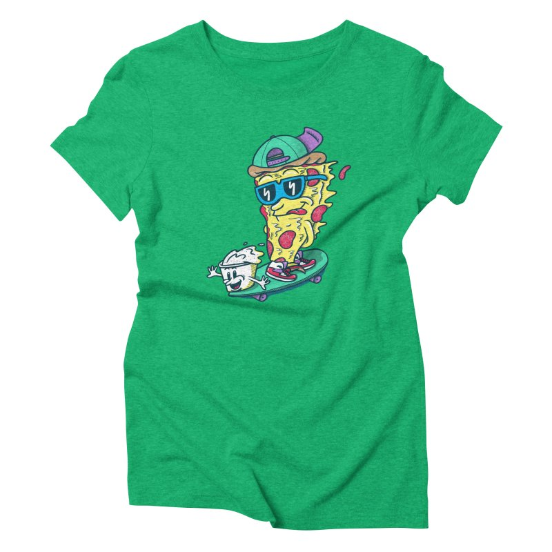 Pizza and Ranch Women's Triblend T-Shirt by SteveOramA
