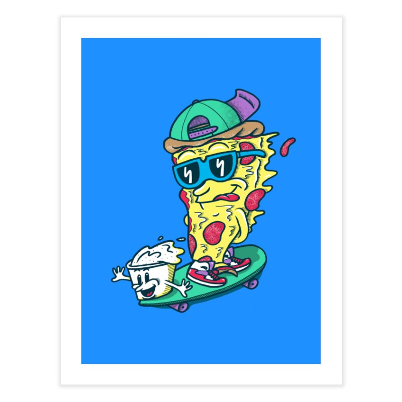 Pizza and Ranch Home Fine Art Print by SteveOramA