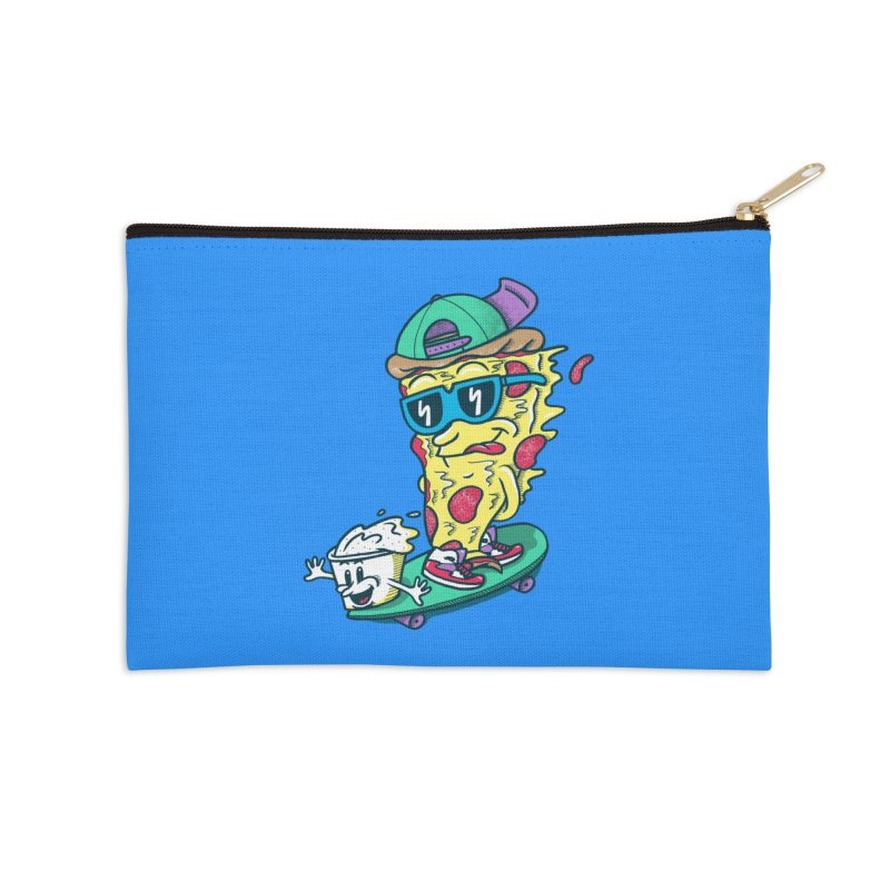 Pizza and Ranch Accessories Zip Pouch by SteveOramA