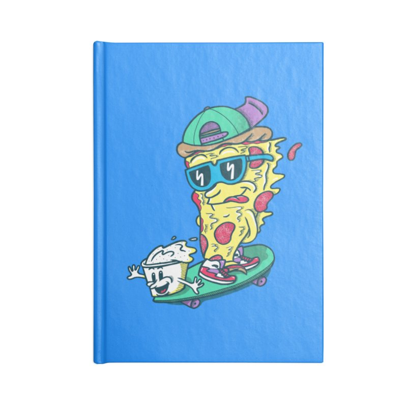 Pizza and Ranch Accessories Blank Journal Notebook by SteveOramA