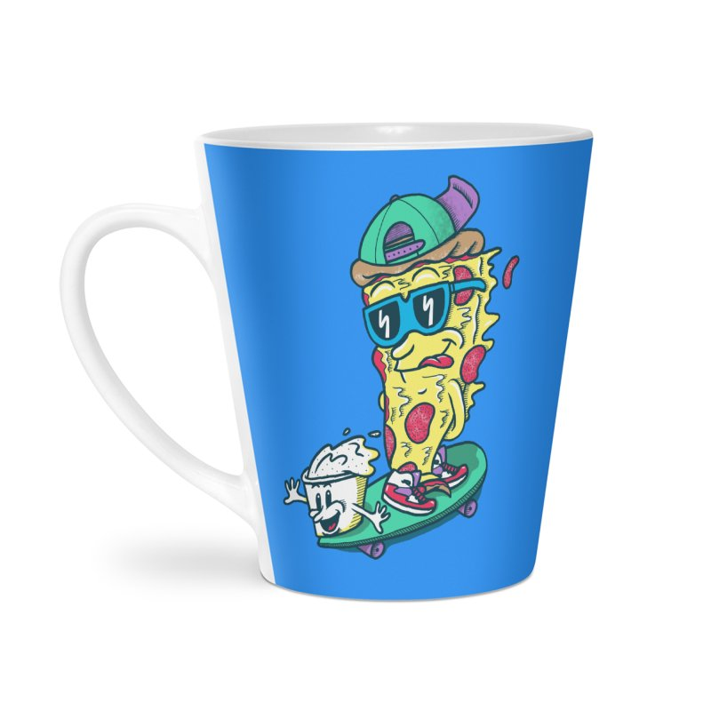 Pizza and Ranch Accessories Latte Mug by SteveOramA
