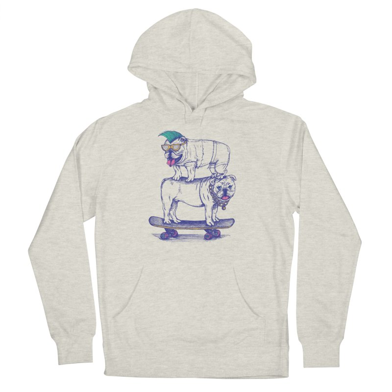 Double Dog Dare Men's French Terry Pullover Hoody by SteveOramA