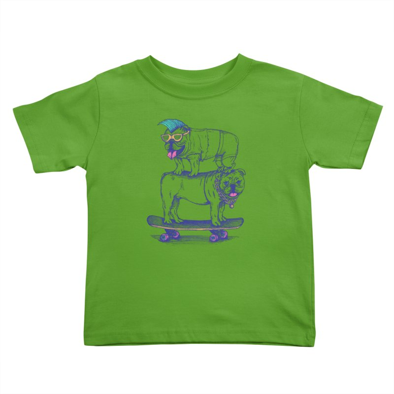 Double Dog Dare Kids Toddler T-Shirt by SteveOramA