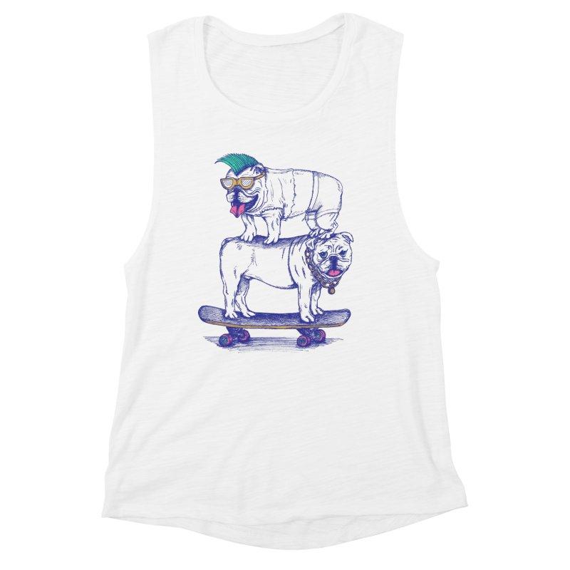 Double Dog Dare Women's Muscle Tank by SteveOramA