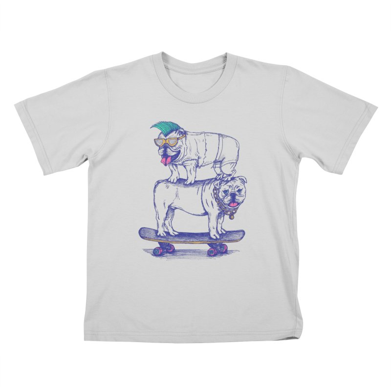 Double Dog Dare Kids T-Shirt by SteveOramA