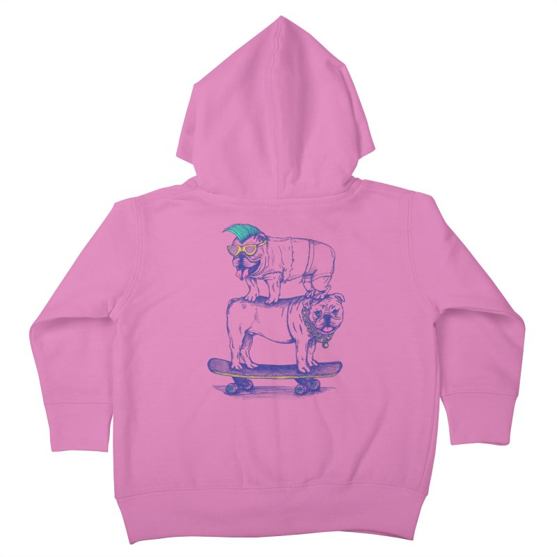 Double Dog Dare Kids Toddler Zip-Up Hoody by SteveOramA