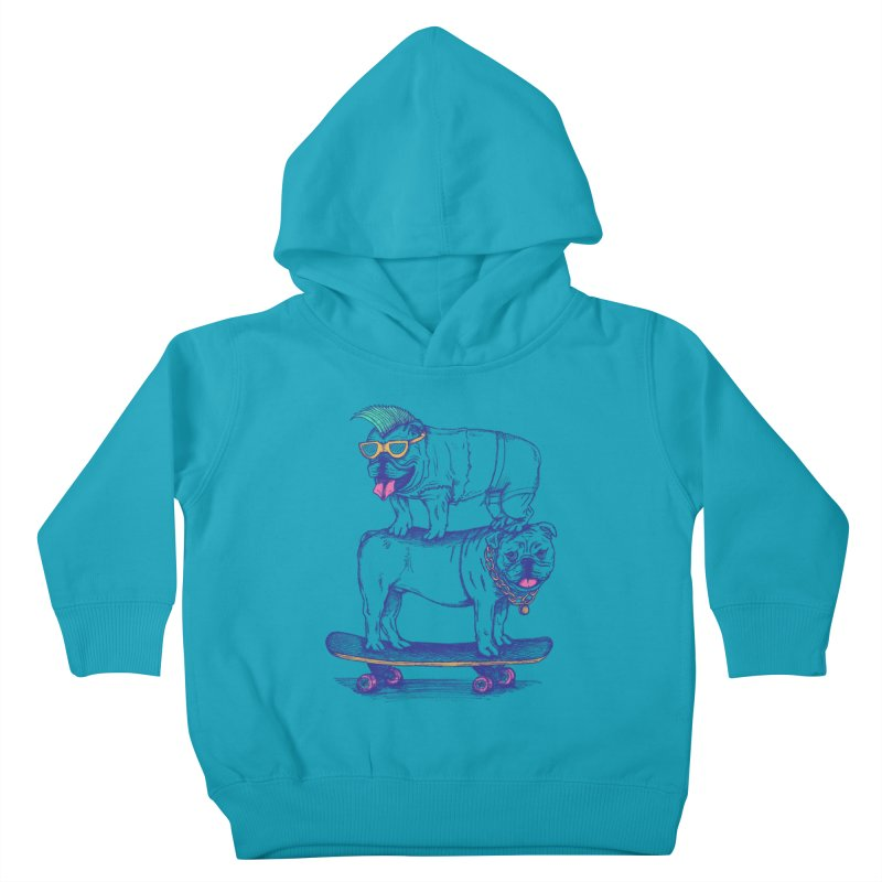 Double Dog Dare Kids Toddler Pullover Hoody by SteveOramA