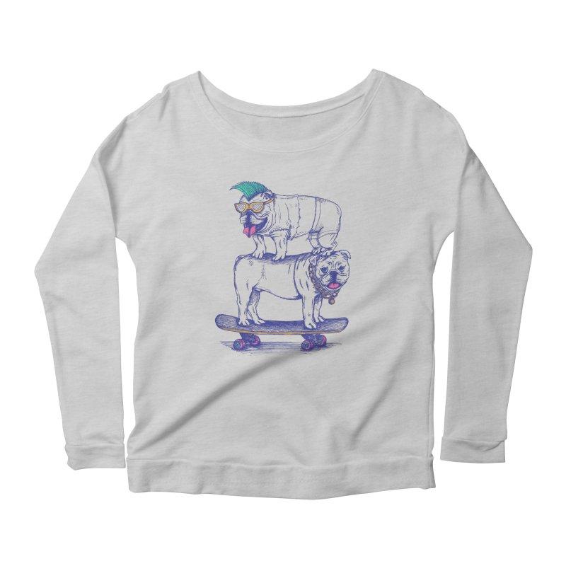 Double Dog Dare Women's Longsleeve T-Shirt by SteveOramA