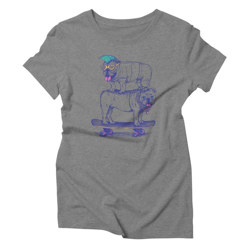 Double Dog Dare Women's Triblend T-Shirt by SteveOramA