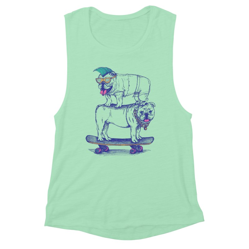 Double Dog Dare Women's Muscle Tank by SteveOramA