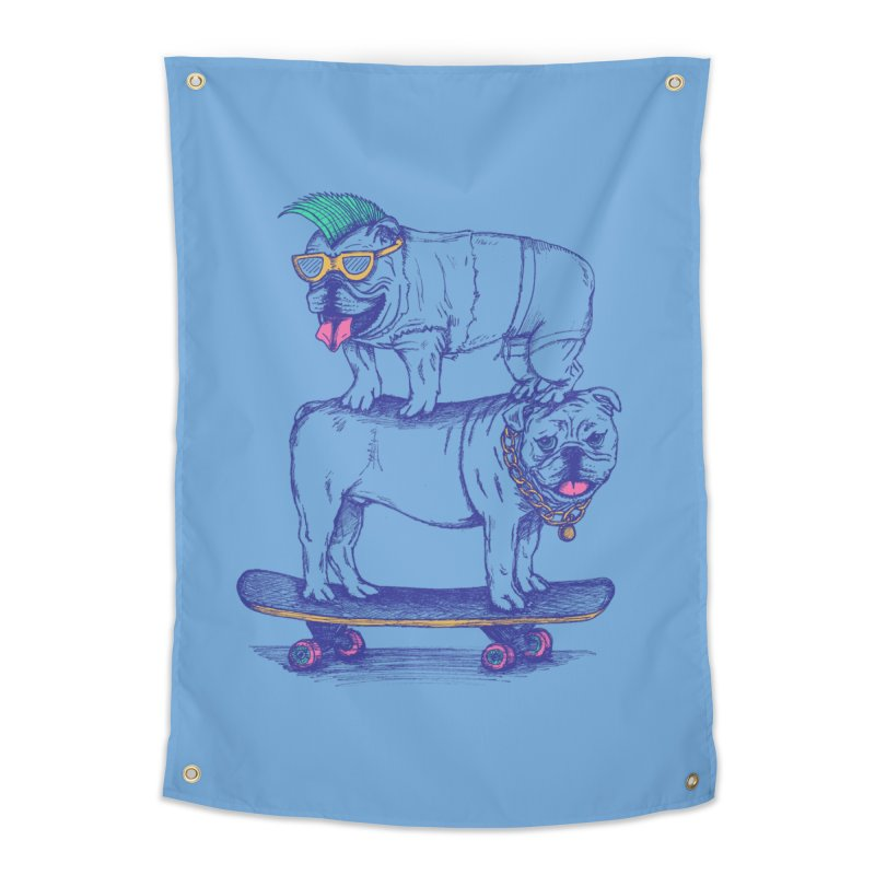 Double Dog Dare Home Tapestry by SteveOramA