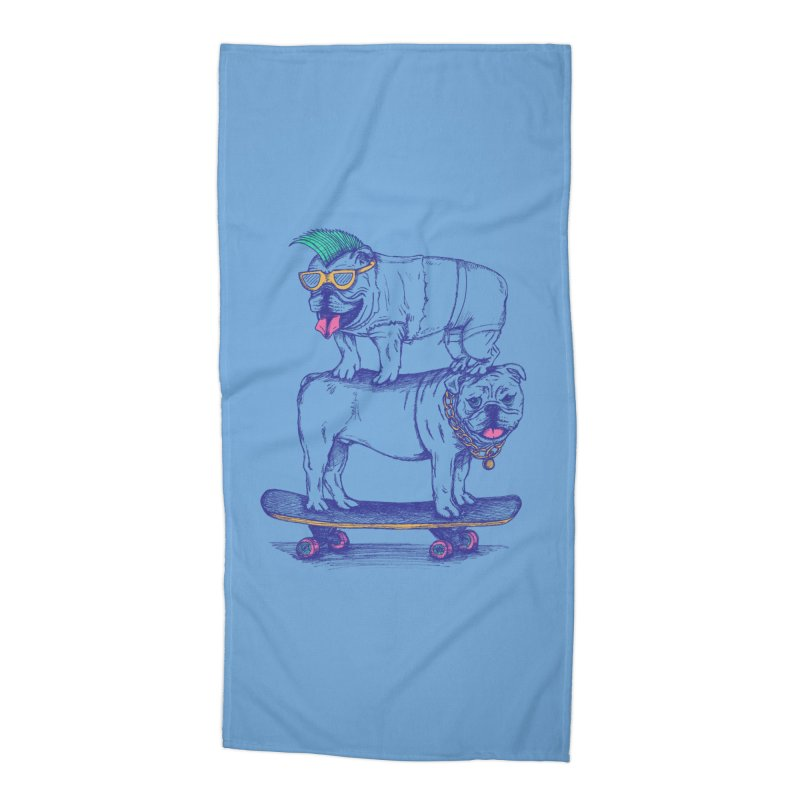 Double Dog Dare Accessories Beach Towel by SteveOramA