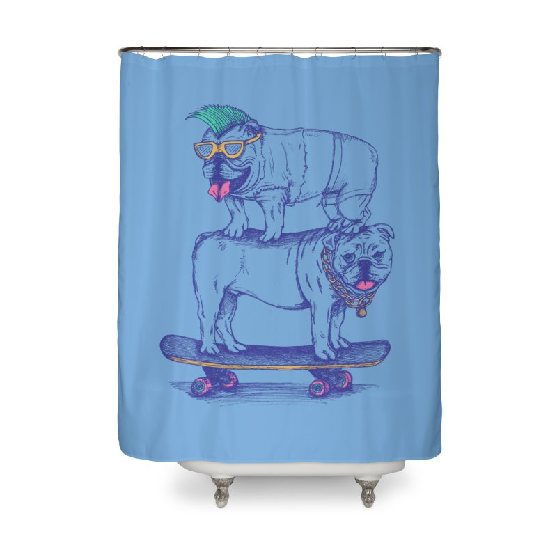 Double Dog Dare Home Shower Curtain by SteveOramA