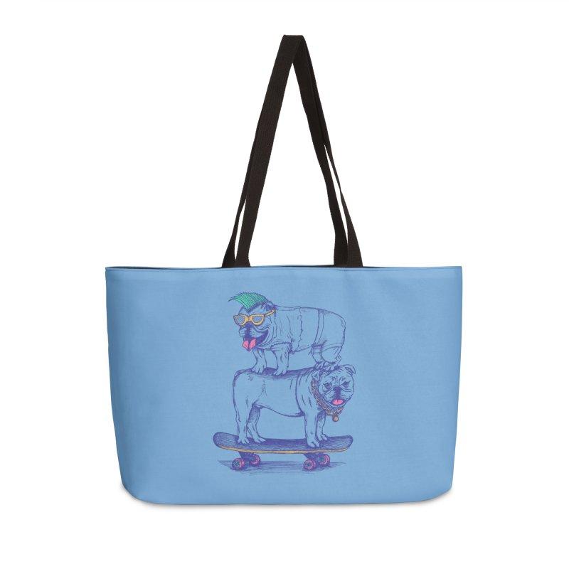 Double Dog Dare Accessories Weekender Bag Bag by SteveOramA