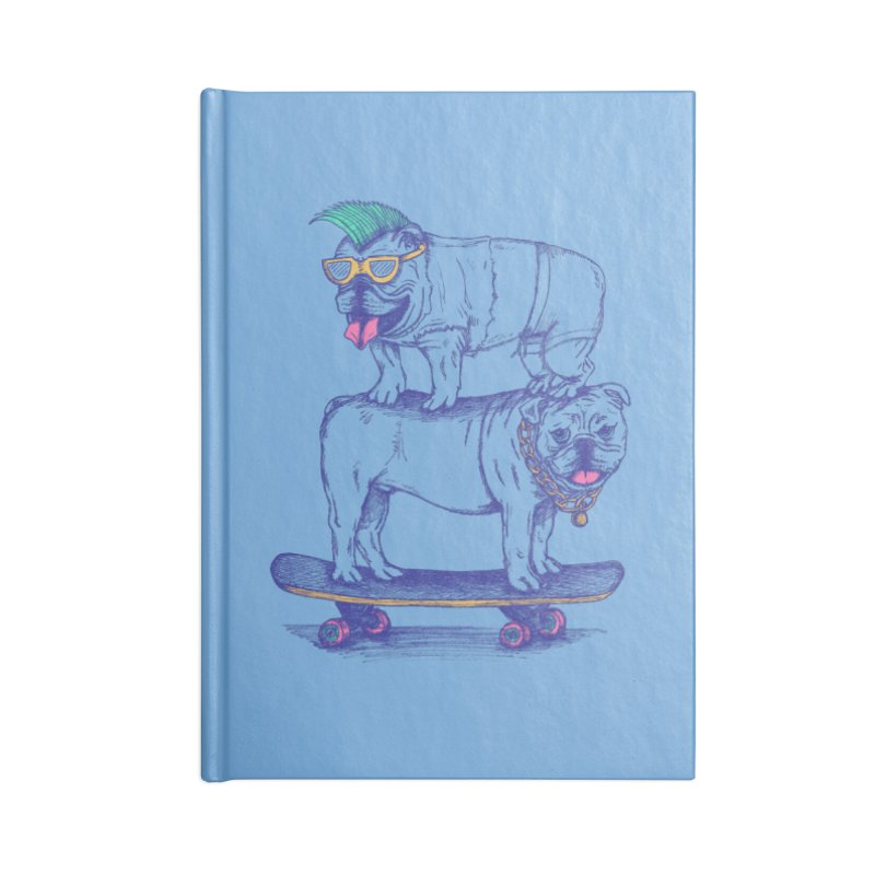 Double Dog Dare Accessories Blank Journal Notebook by SteveOramA