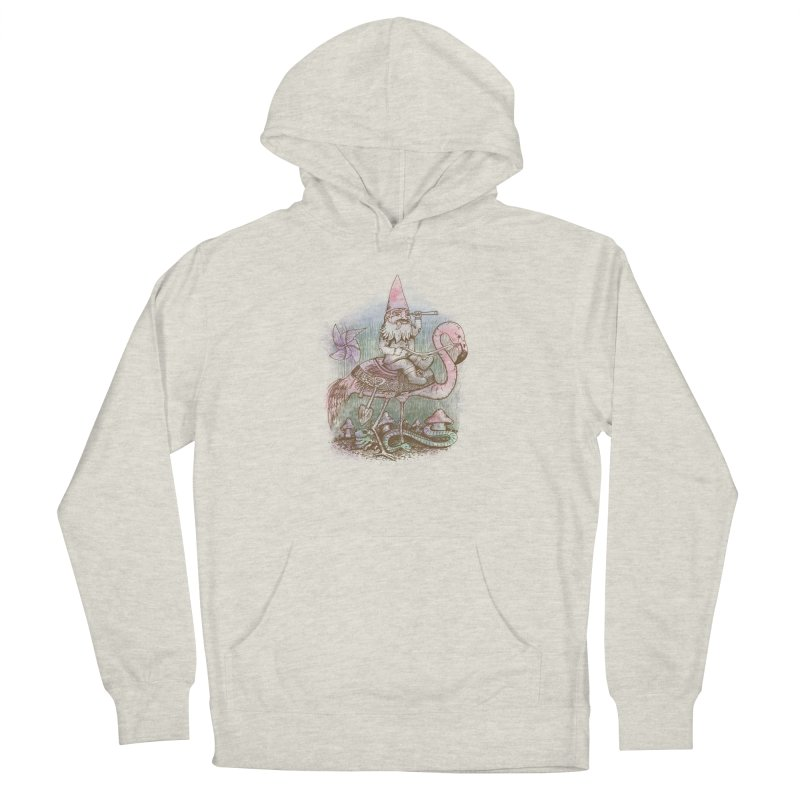 Journey Through the Garden Women's French Terry Pullover Hoody by SteveOramA