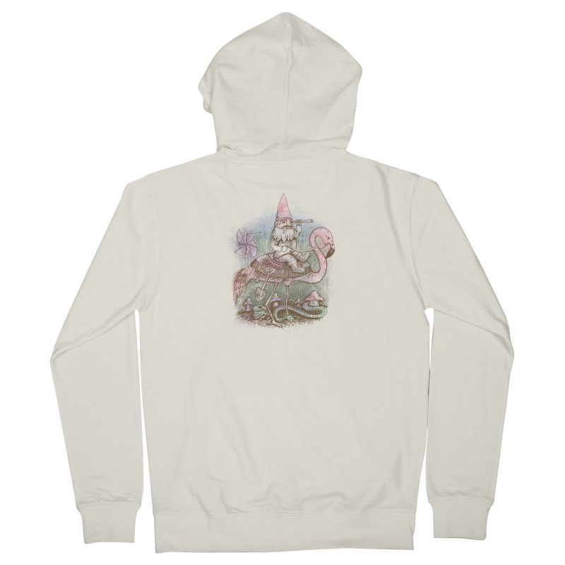 Journey Through the Garden Women's Zip-Up Hoody by SteveOramA