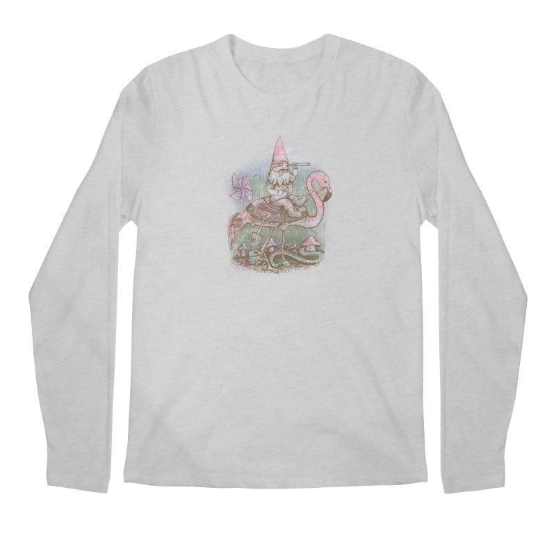 Journey Through the Garden Men's Regular Longsleeve T-Shirt by SteveOramA