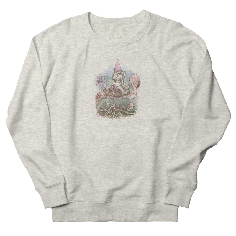Journey Through the Garden Women's French Terry Sweatshirt by SteveOramA