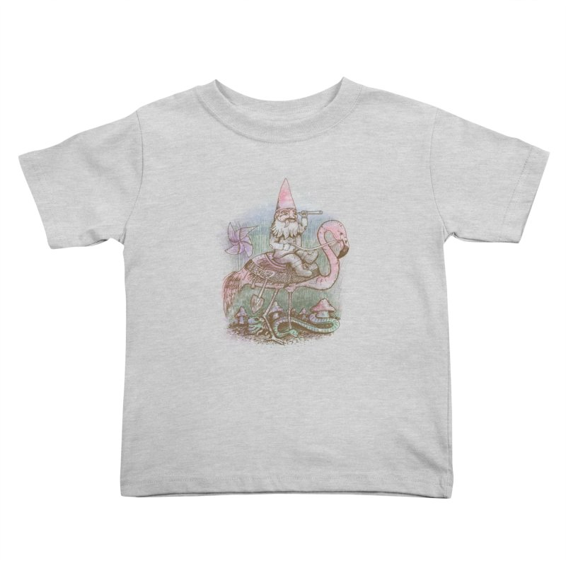 Journey Through the Garden Kids Toddler T-Shirt by SteveOramA