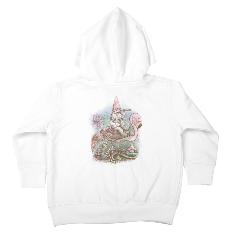 Journey Through the Garden Kids Toddler Zip-Up Hoody by SteveOramA