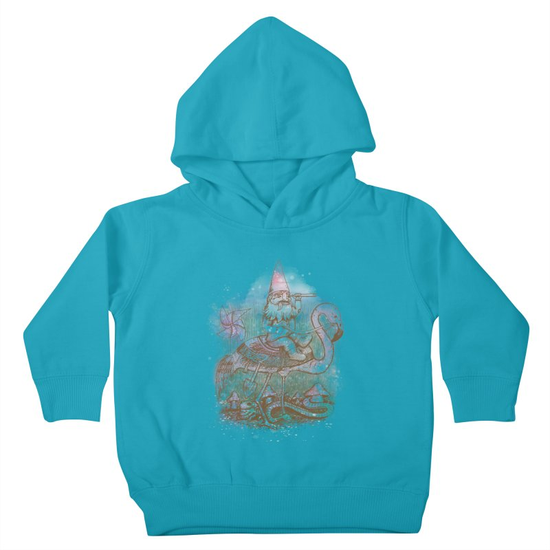 Journey Through the Garden Kids Toddler Pullover Hoody by SteveOramA