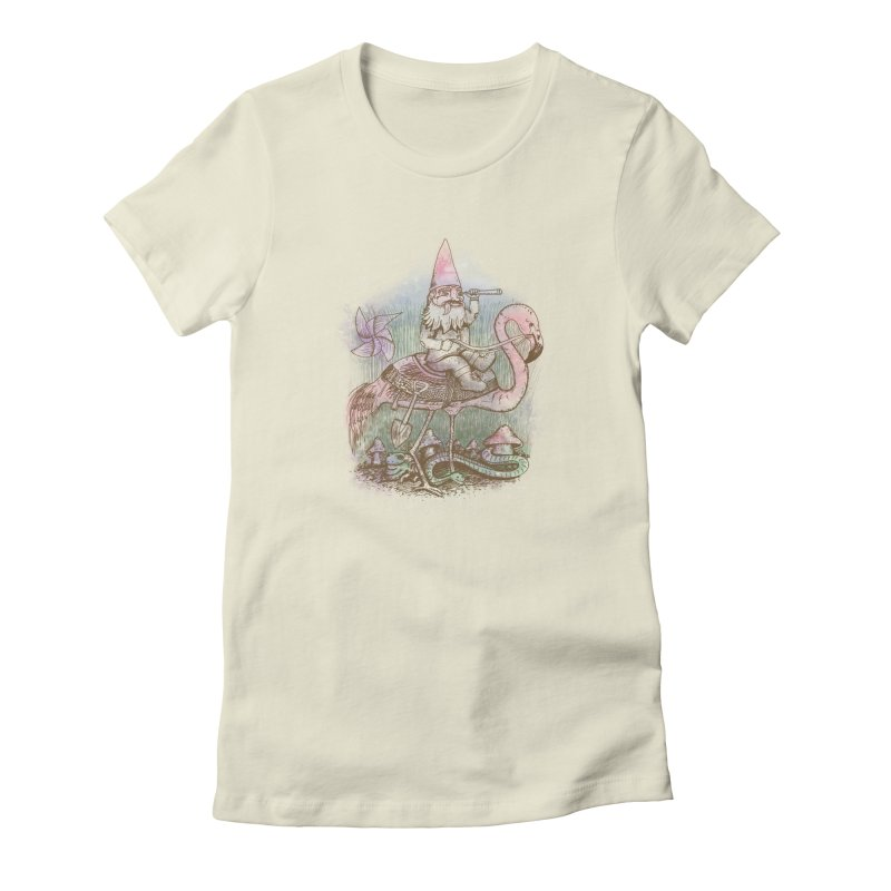 Journey Through the Garden Women's Fitted T-Shirt by SteveOramA