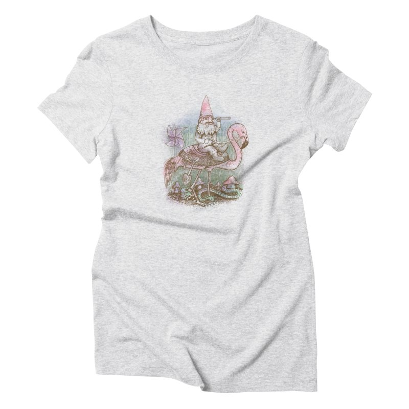 Journey Through the Garden Women's Triblend T-shirt by SteveOramA