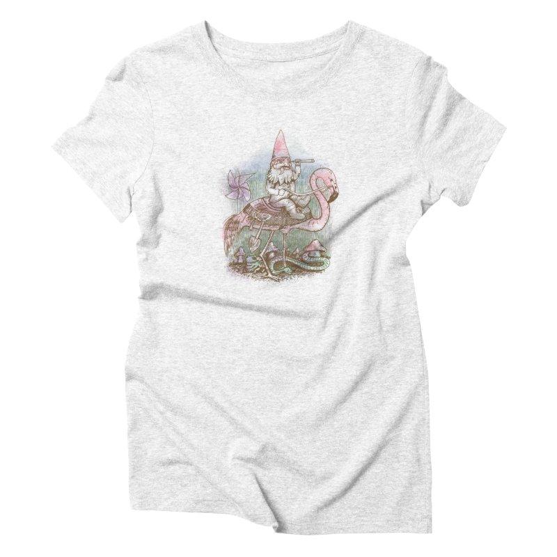 Journey Through the Garden Women's Triblend T-shirt by SteveOramA