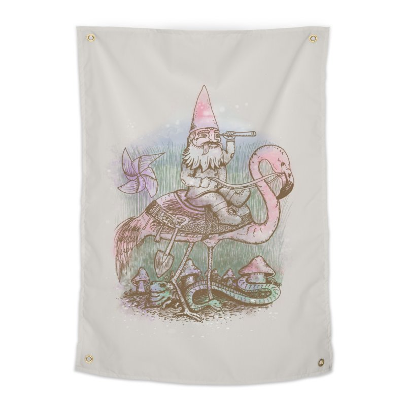 Journey Through the Garden Home Tapestry by SteveOramA