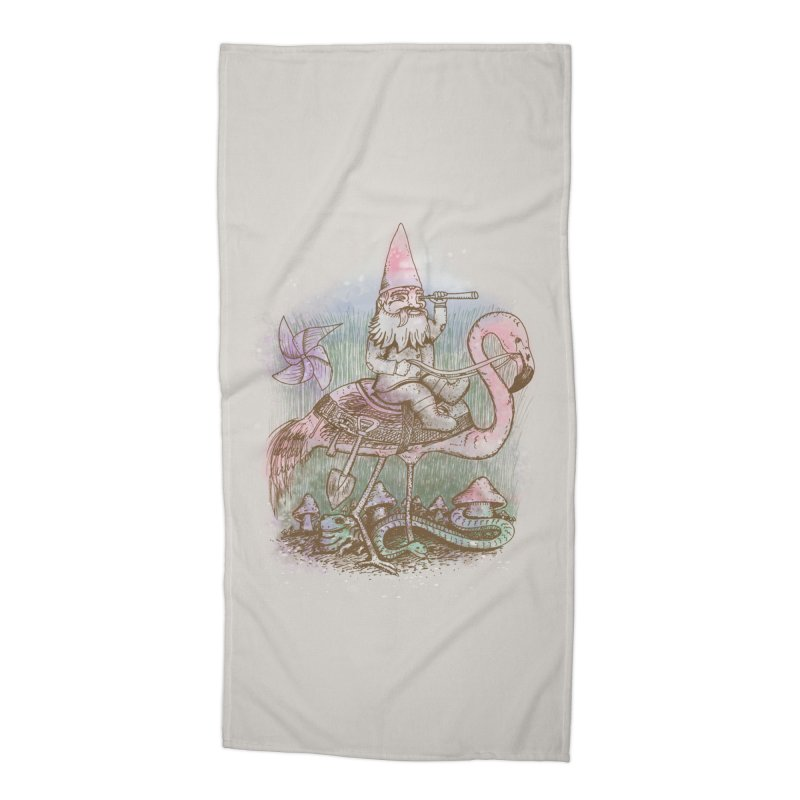 Journey Through the Garden Accessories Beach Towel by SteveOramA