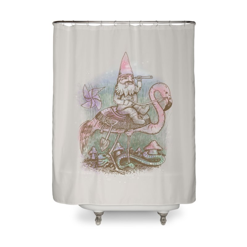 Journey Through the Garden Home Shower Curtain by SteveOramA