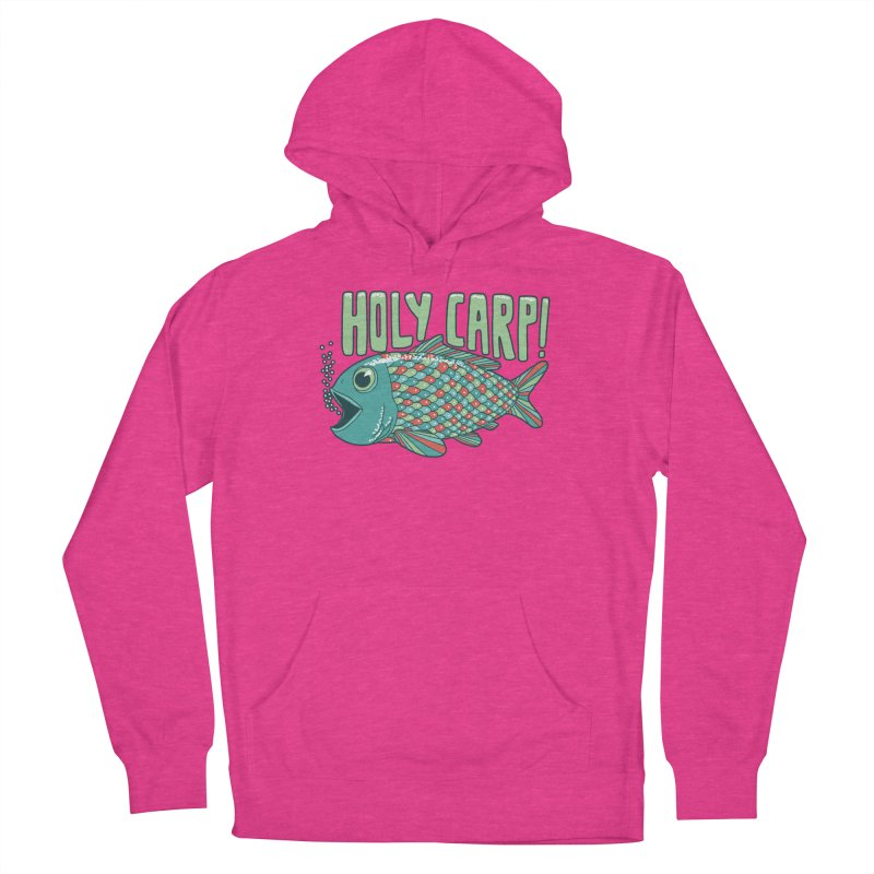 Holy Carp Women's French Terry Pullover Hoody by SteveOramA