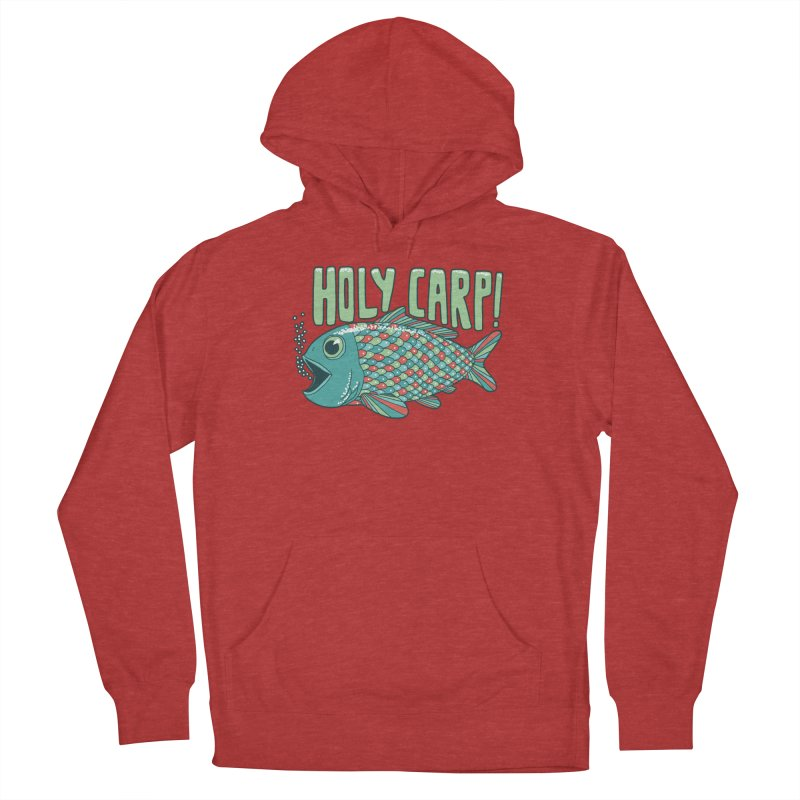 Holy Carp Men's French Terry Pullover Hoody by SteveOramA