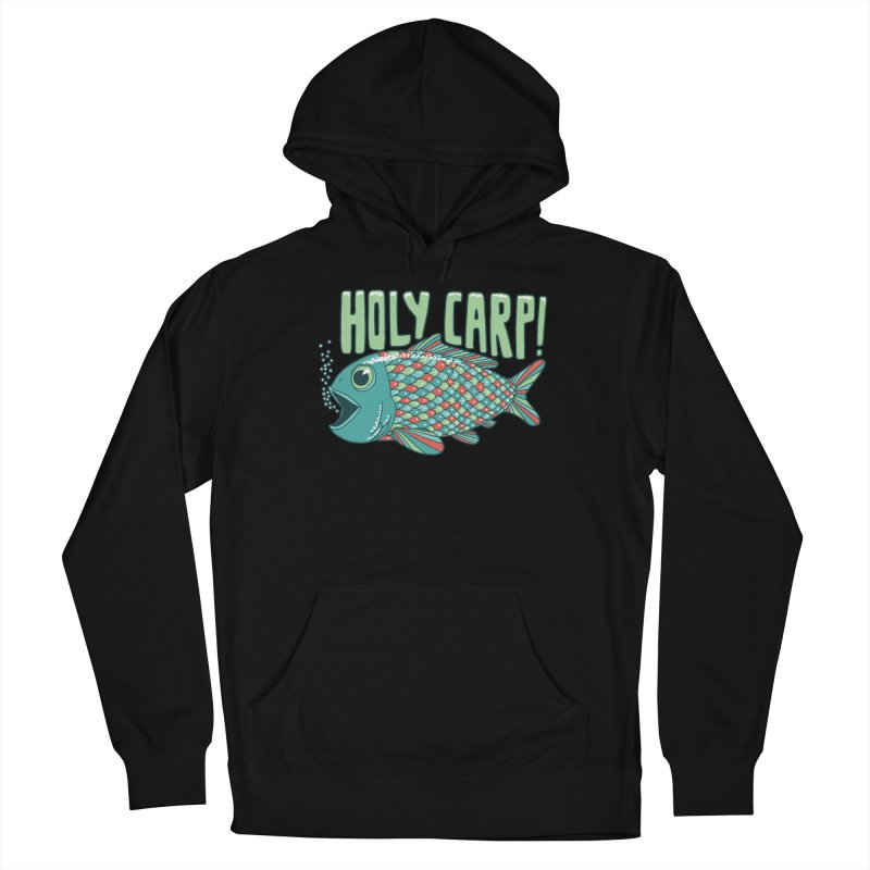 Holy Carp Men's Pullover Hoody by SteveOramA