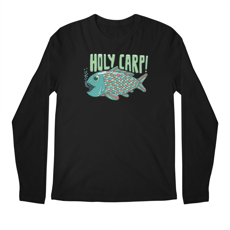 Holy Carp Men's Longsleeve T-Shirt by SteveOramA