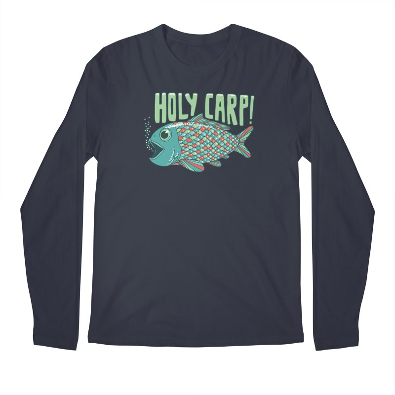 Holy Carp Men's Regular Longsleeve T-Shirt by SteveOramA