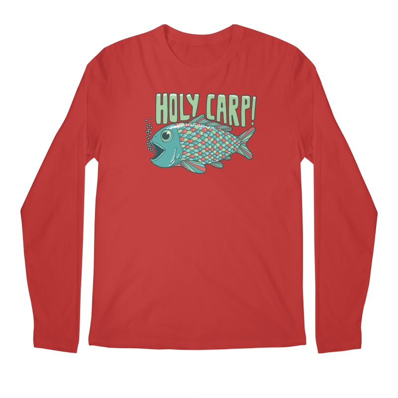 Holy Carp Men's Regular Longsleeve T-Shirt by SteveOramA