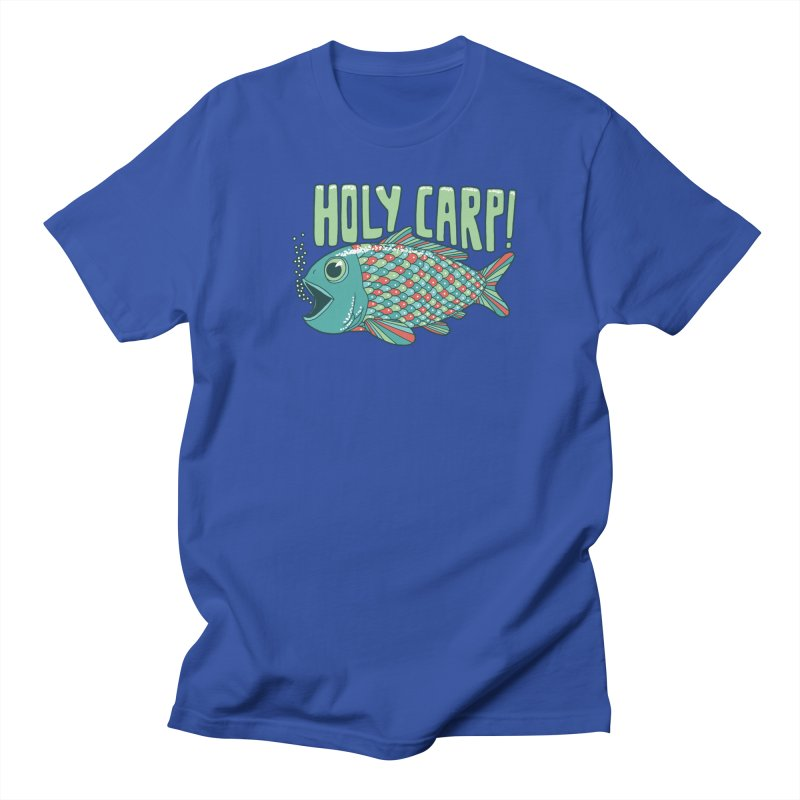 Holy Carp Men's Regular T-Shirt by SteveOramA