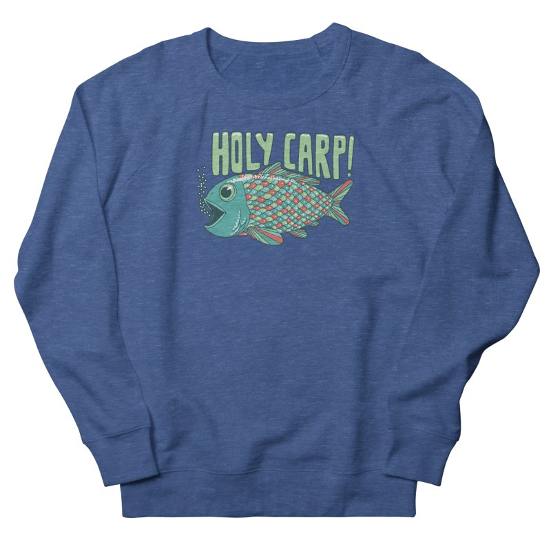 Holy Carp Women's French Terry Sweatshirt by SteveOramA