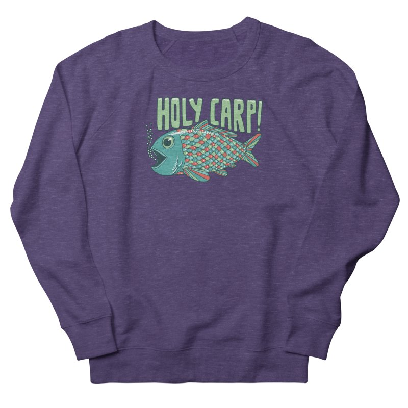Holy Carp Men's Sweatshirt by SteveOramA