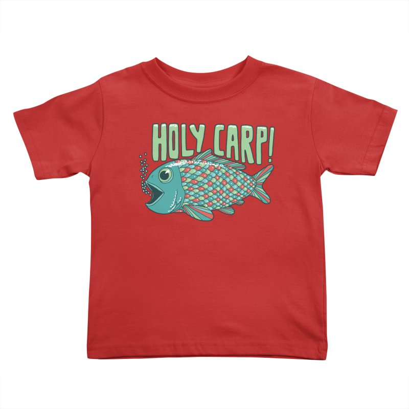 Holy Carp Kids Toddler T-Shirt by SteveOramA