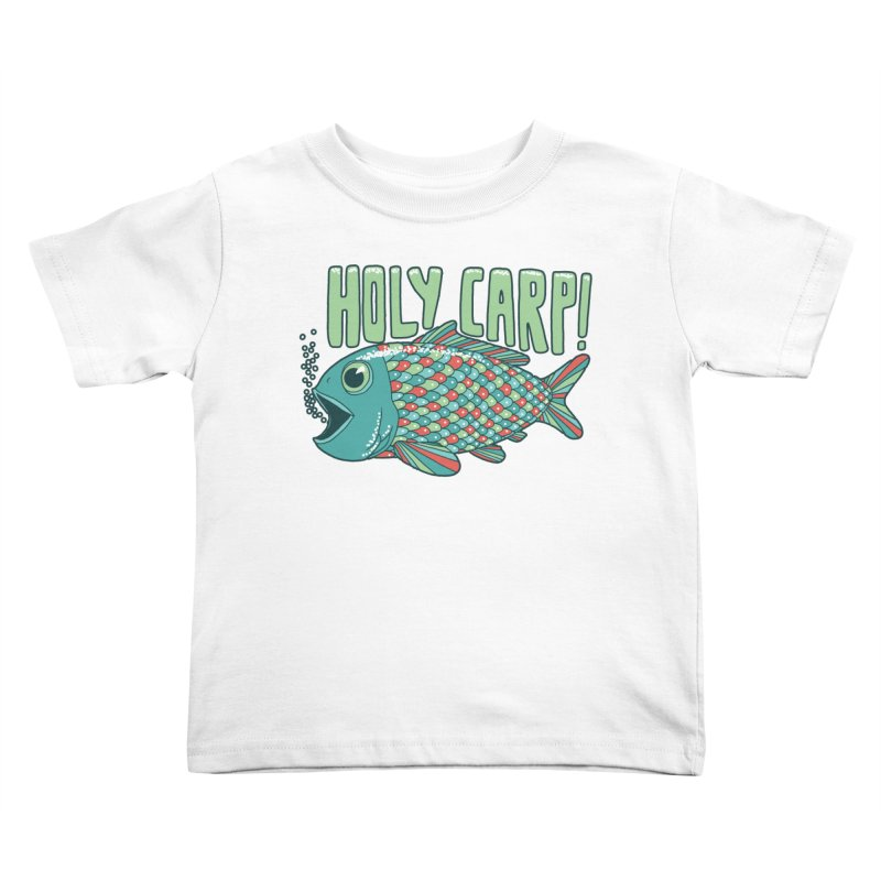 Holy Carp Kids Toddler T-Shirt by SteveOramA