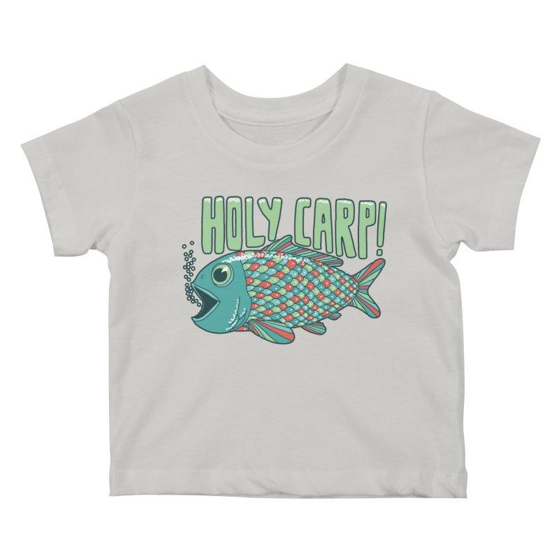 Holy Carp Kids Baby T-Shirt by SteveOramA